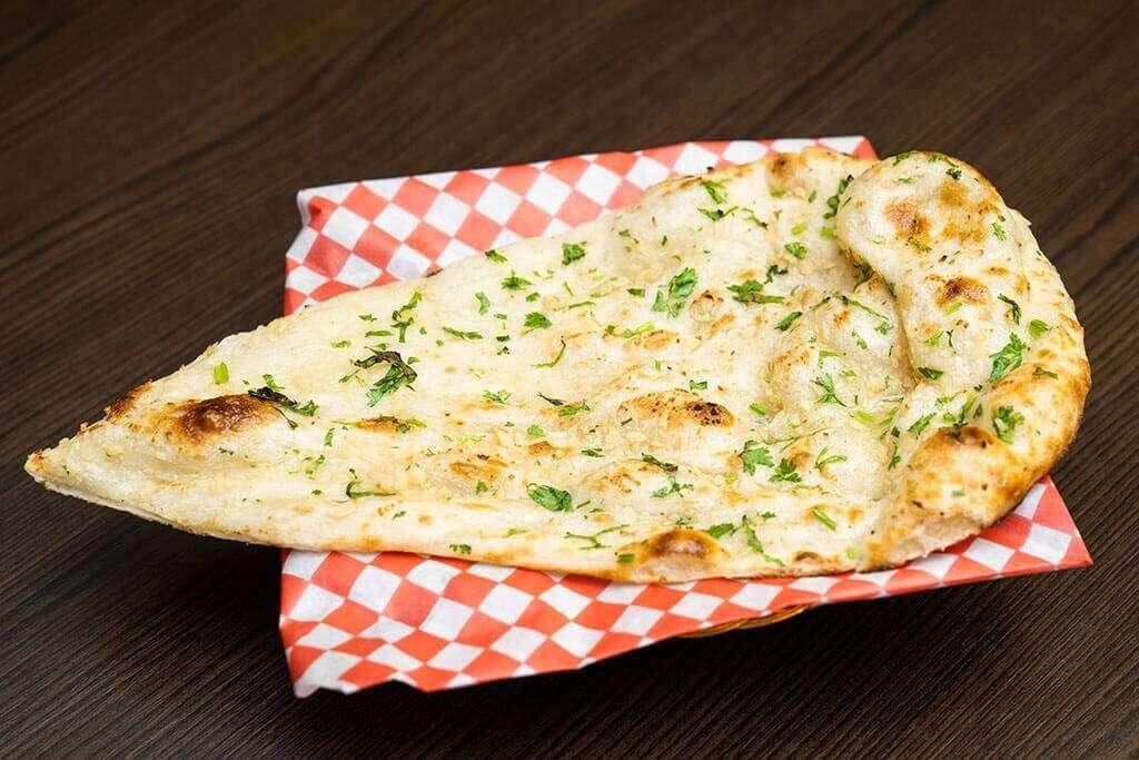 Garlic Naan - Bombay Grill Milton