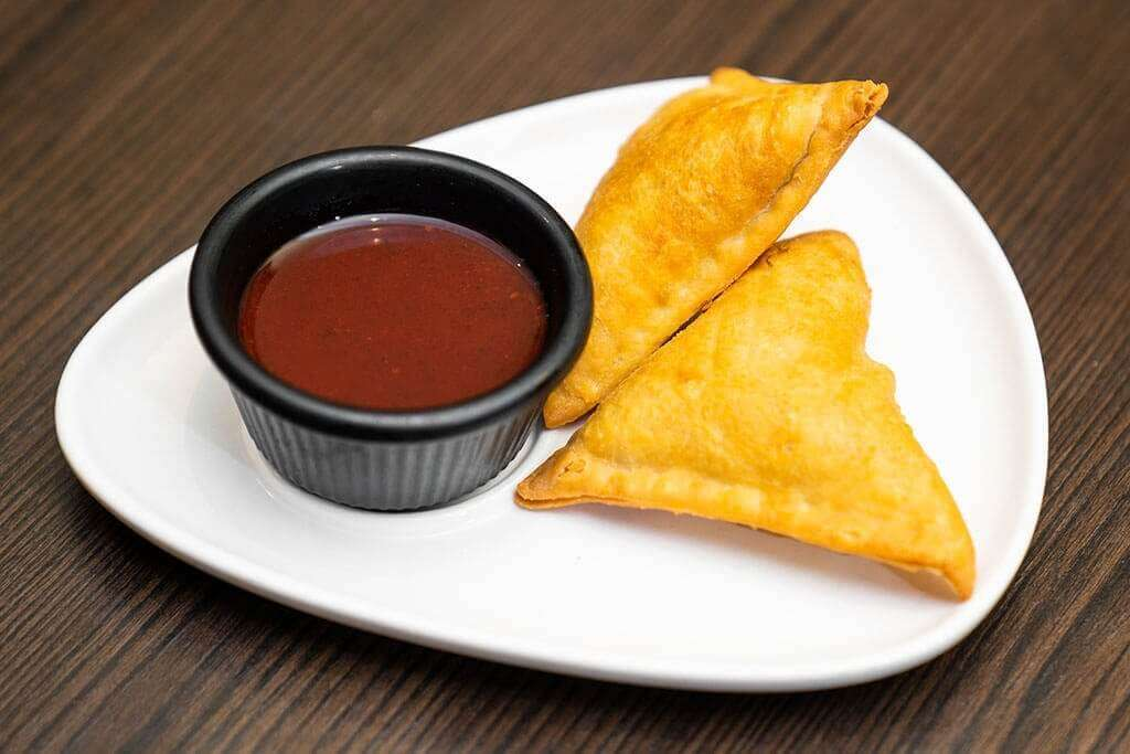 Vegetable Samosa - Bombay Grill Milton