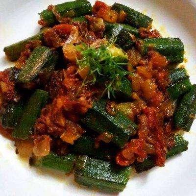 Bhindi_Masala - Bombay Grill Milton