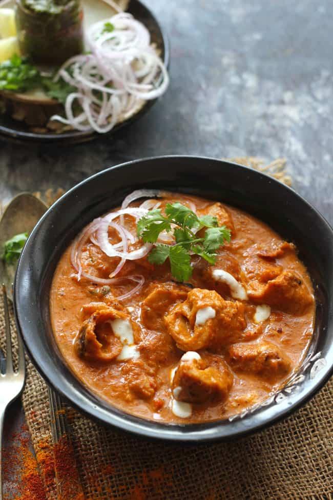 Butter Masala Chaap - Bombay Grill Milton