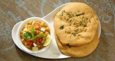 Chana Kulcha - Bombay Grill Milton