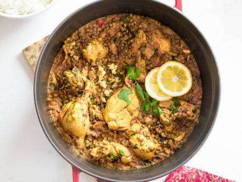 Chicken Dhansak - Bombay Grill Milton