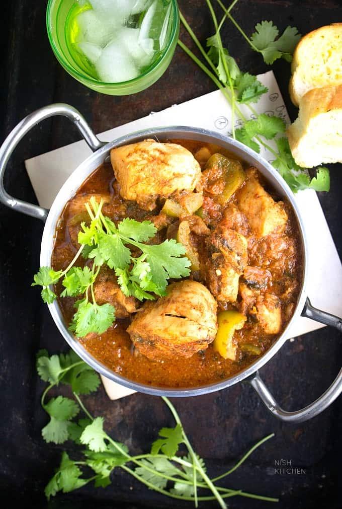 Chicken Karahi - Bombay Grill Milton