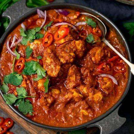 Chicken Madras Curry - Bombay Grill Milton
