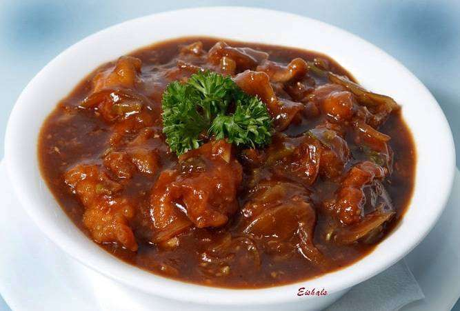 Chicken Manchurian - Bombay Grill Milton