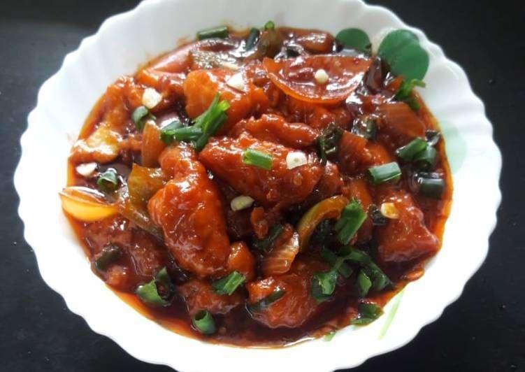 Chili Fish - Bombay Grill Milton