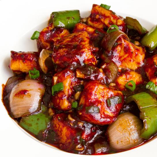 Chili Paneer - Bombay Grill Milton