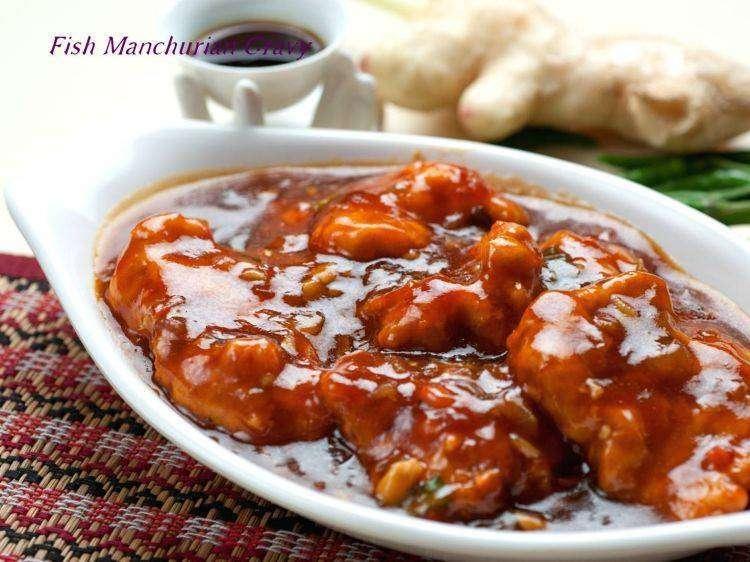 Fish Manchurian - Bombay Grill Milton