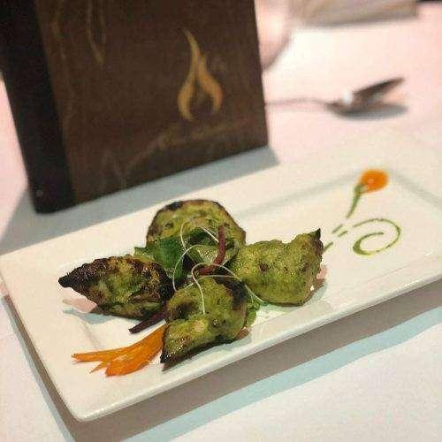 Haryali Tikka - Bombay Grill Milton