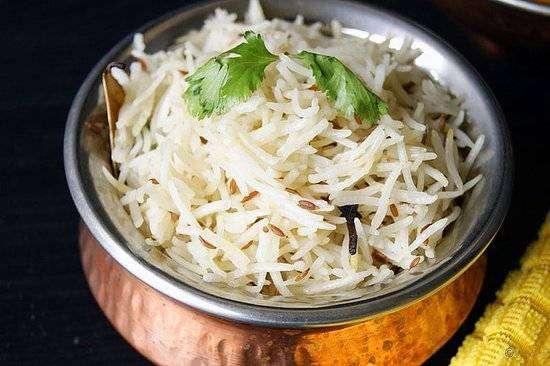 Jeera Rice - Bombay Grill Milton