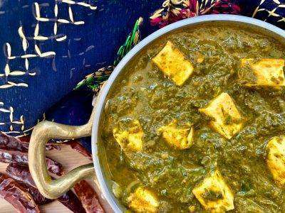 Palak Paneer - Bombay Grill Milton