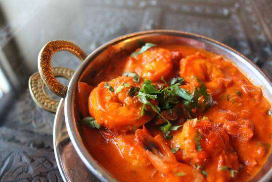 Shrimp Masala - Bombay Grill Milton