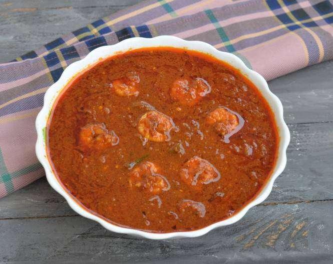 Shrimp Vindaloo - Bombay Grill Milton