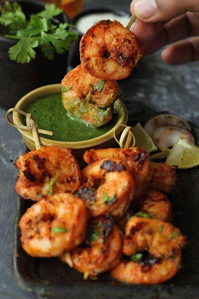 Tandoori Jumbo Shrimp - Bombay Grill Milton