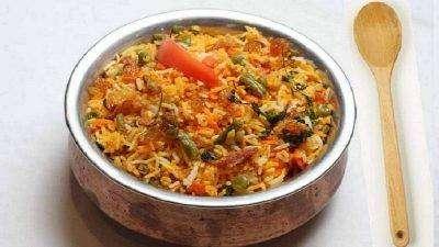 Veg Biryani - Bombay Grill Milton