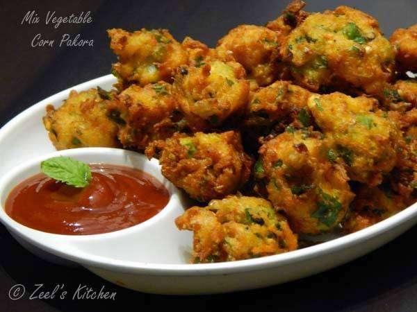 Veg Pakora - Bombay Grill Milton