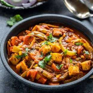 Vegetable Jalfrezi - Bombay Grill Milton