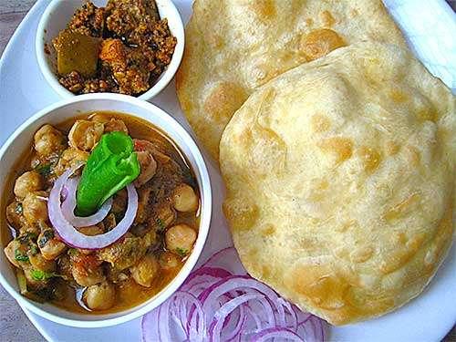 Chole Bhature - Bombay Grill Milton