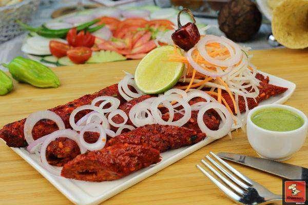Lamb Sheekh Kabab - Bombay Grill Milton