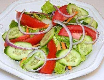 Salad Greens - Bombay Grill Milton
