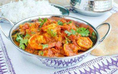 Shrimp Jalfrezie - Bombay Grill Milton