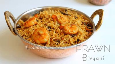 Shrimp Biryani - Bombay Grill Milton