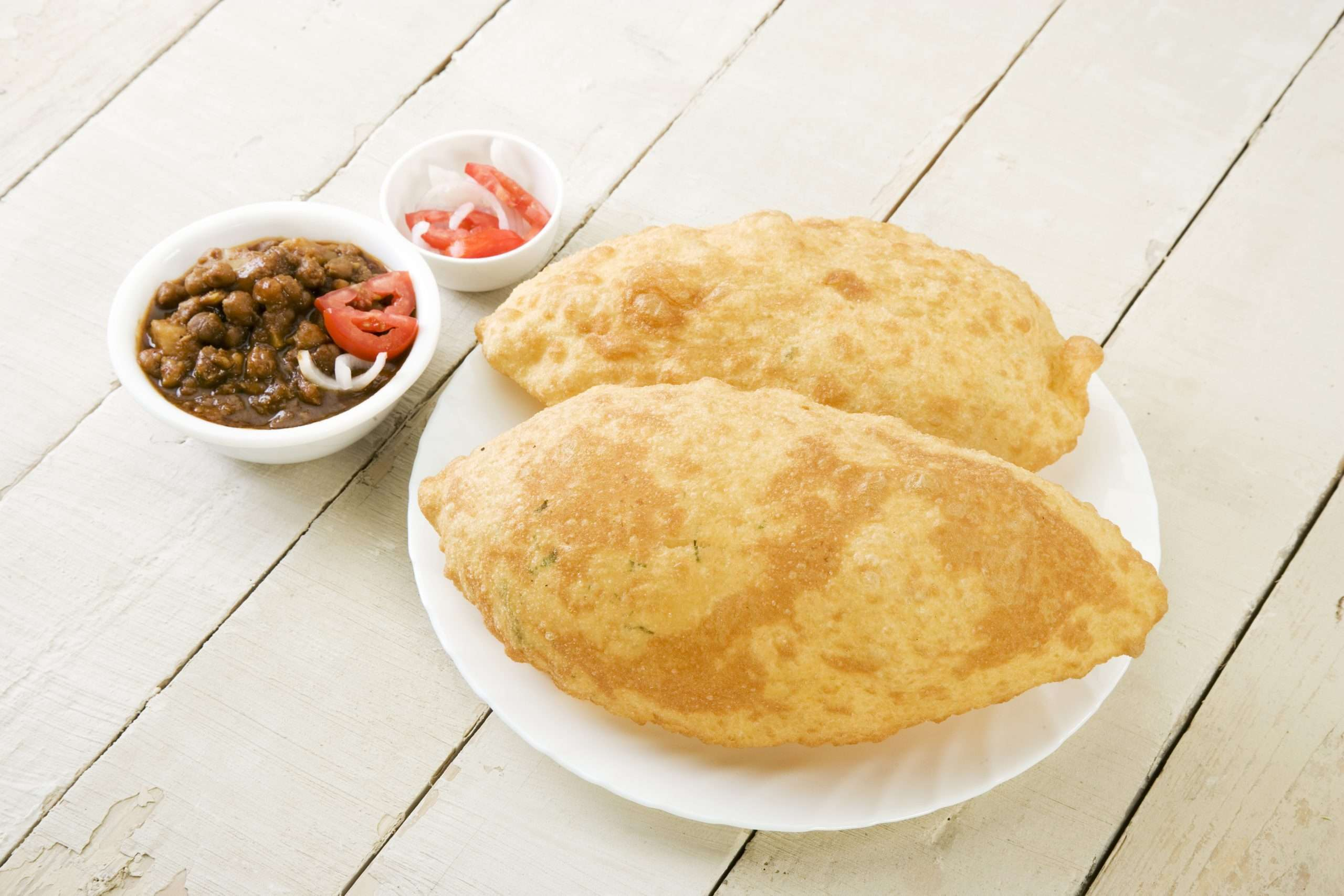 Chole Bhature - Bombay Grill Milton