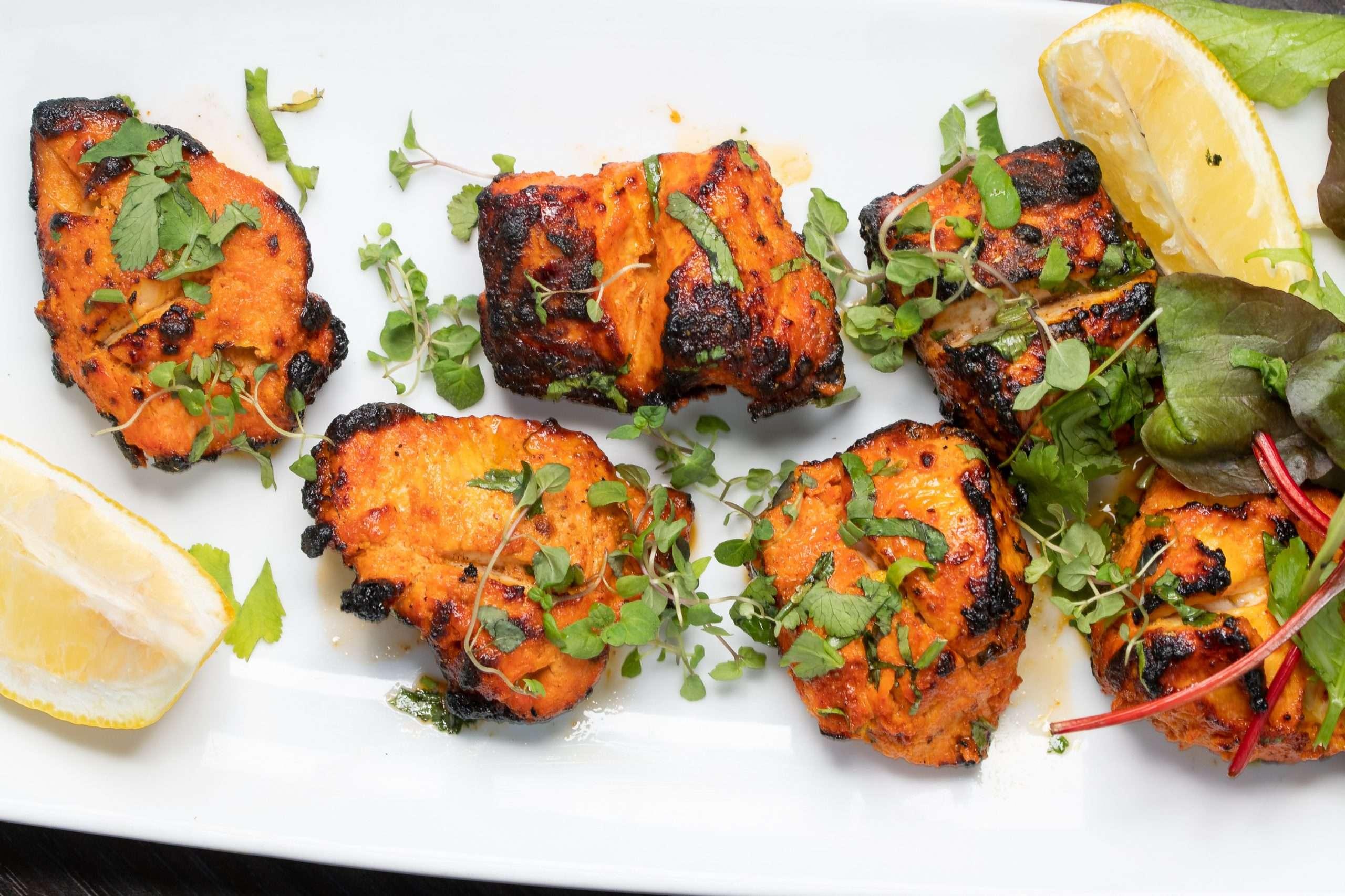 Chicken Tikka With Herbs - Bombay Grill Milton