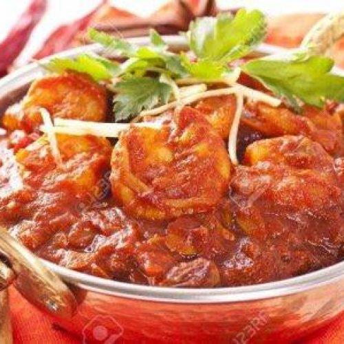Karahi Shrimp - Bombay Grill Milton
