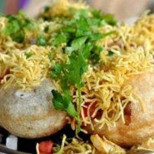 Sev Puri - Bombay Grill Milton
